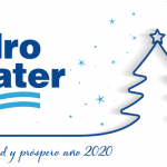 Felicita navidad 2020 Hidro-Water firma